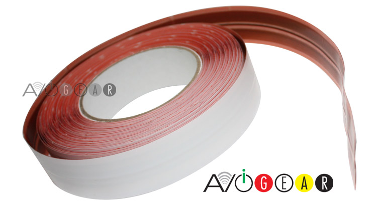 Acoustic Research SPEAKER CABLE 30ft MICRO FLAT ADHESIVE Wire for ...